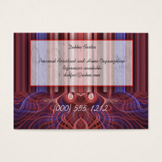 font of fire business card