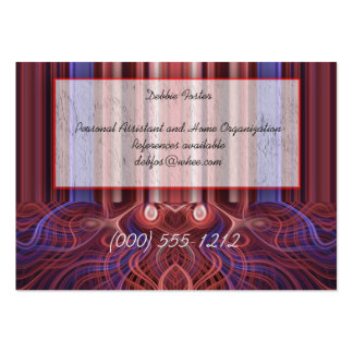 font of fire large business cards (Pack of 100)
