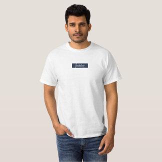 Fontaine Box Blue Logo T-Shirt