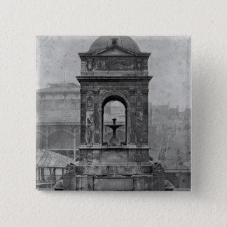 Fontaine des Innocents, 1547 15 Cm Square Badge