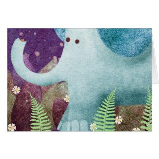 Fontaine the Elephant Card