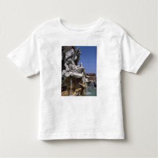 Fontana dei Quattro Fiumi, Piazza Navona, Rome, Toddler T-Shirt