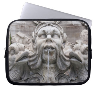 Fontana del Pantheon (1575) designed by Giacomo Laptop Sleeve