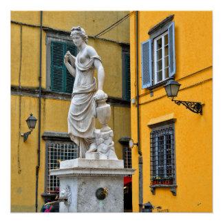 Fontana della Pupporona, Lucca, Italy