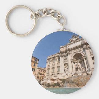 Fontana di Trevi in Rome, Italy Key Ring