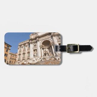 Fontana di Trevi in Rome, Italy Luggage Tag