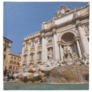 Fontana di Trevi in Rome, Italy Napkin