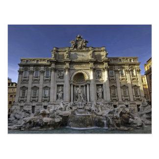 Fontana di Trevi Postcard