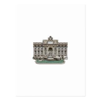 Fontana di Trevi Trevi Fountain 3D Model Postcards