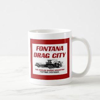 Fontana Drag Strip Basic White Mug