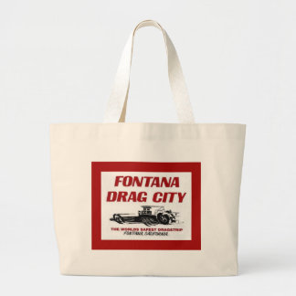 Fontana Drag Strip Jumbo Tote Bag