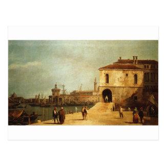 Fonteghetto della Farina by Canaletto Postcard