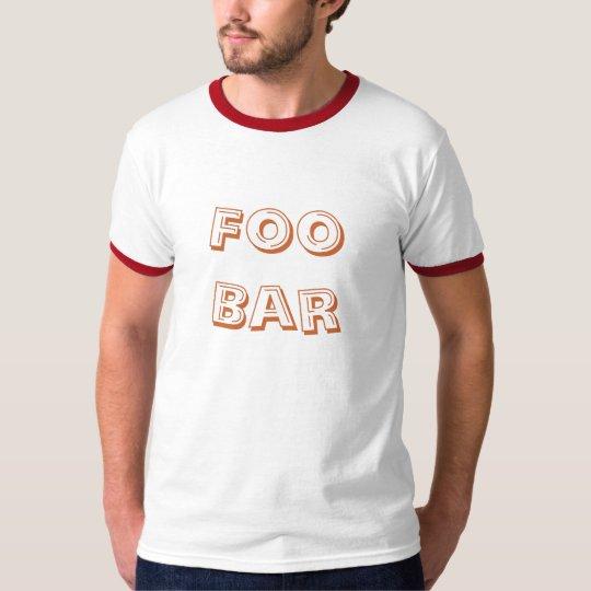 Foo Bar T-Shirt