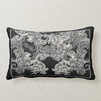 Foo Dog Flight Lumbar Cushion
