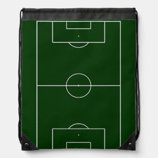 fooball soccer sports game drawstring bag