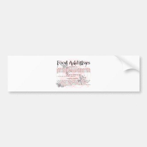 food additives car bumper sticker