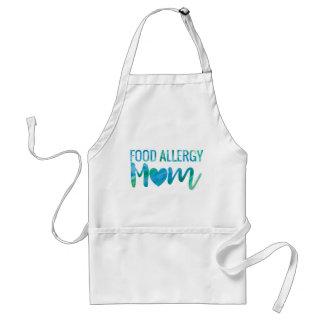 Food Allergy Mom Watercolor Typography Awareness Standard Apron
