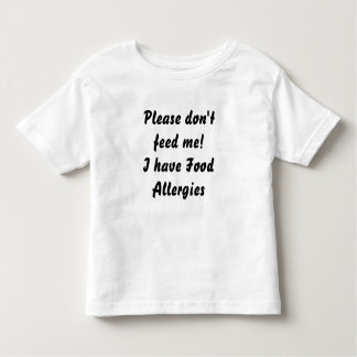 Food Allergy TShirt