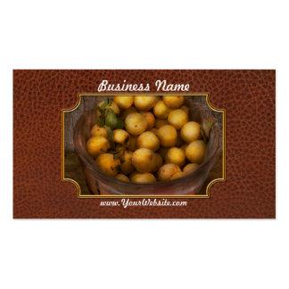Food - Apples - Golden apples Pack Of Standard Business Cards