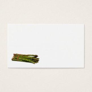 food asparagus business card