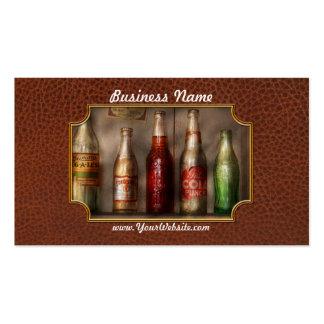 Food - Beverage - Favorite soda Business Card Templates