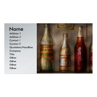 Food - Beverage - Favorite soda Business Card Templates