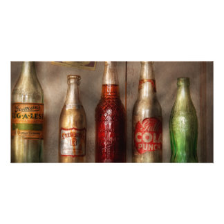 Food - Beverage - Favorite soda Photo Card Template