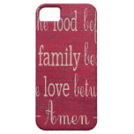 Food Blessing iPhone 5 Cover