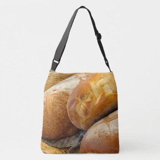 Food - Bread - Just loafing around Crossbody Bag