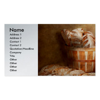 Food - Bread - Your daily bread Business Cards