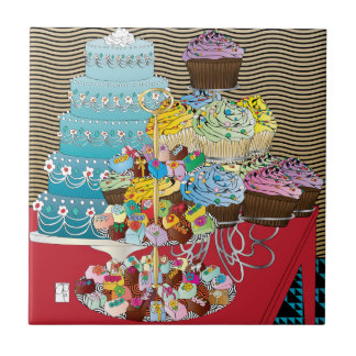 Food Cakes Tile