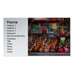 Food - Candy - Chocolate covered everything Business Card Templates