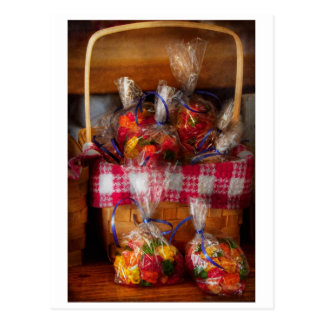 Food - Candy - Gummy bears for sale Postcard