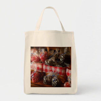 Food - Candy - Licorice Bites Canvas Bags