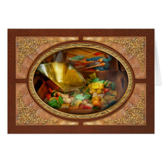 Food - Candy - One scoop of candy please Greeting Card