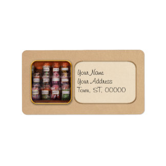 Food - Candy - Penny Candy Address Label