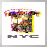 Food cart poster