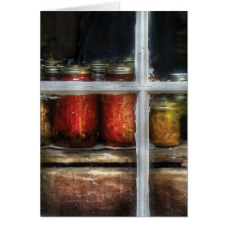 Food - Country Preserves Greeting Card
