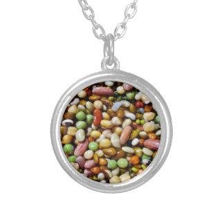 FOOD Craft Junkies :  Exotic Beans Spectrum Pendants