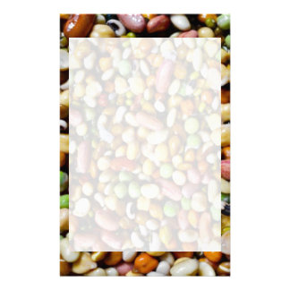 FOOD Craft Junkies :  Exotic Beans Spectrum Personalized Stationery