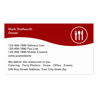 Food Delivery Business Cards