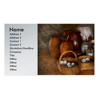 Food - Eggs - Country breakfast Business Cards