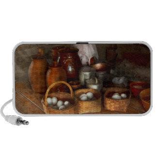 Food - Eggs - Country breakfast Portable Speakers