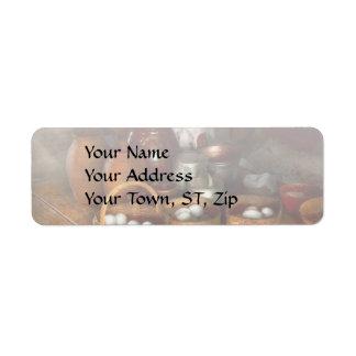 Food - Eggs - Country breakfast Return Address Label