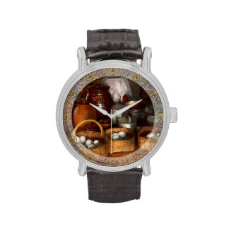 Food - Eggs - Country breakfast Wristwatches