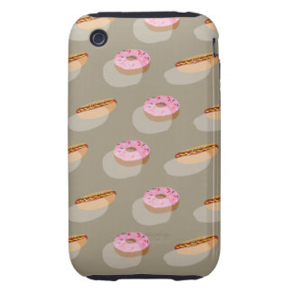 Food Fashion iPhone 3 Tough Case