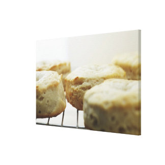 Food, Food And Drink, Biscuits, Butter, Bread, Gallery Wrapped Canvas