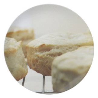 Food, Food And Drink, Biscuits, Butter, Bread, Plate