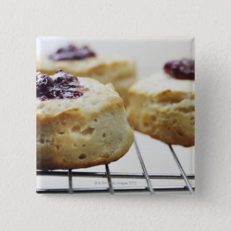Food, Food And Drink, Buttermilk, Biscuit, 15 Cm Square Badge