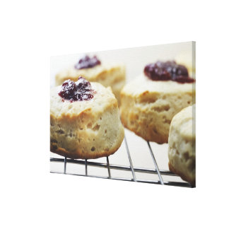 Food Food And Drink Buttermilk Biscuit Gallery Wrap Canvas